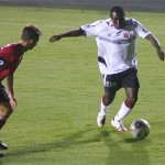 Adu in action against Charleston Battery in 2006